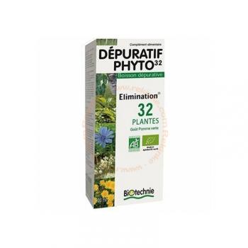 Dépuratif Phyto 32 Bio - Boisson dépurative - 300ml