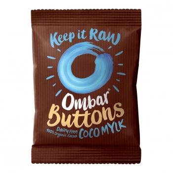 Buttons - Chocolat Cru Crème de Coco 25g Bio - Ombar