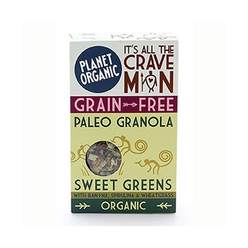 Paleogranola Sweet Greens 350g Bio - Planet Organic
