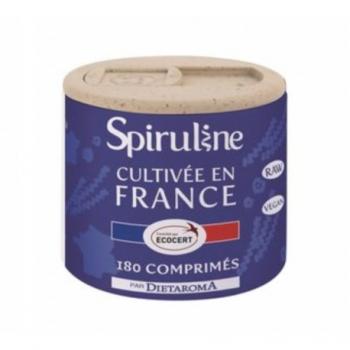 Spiruline Française - 180 Comprimés - DIETAROMA