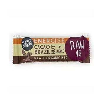 Barre Energétique Noix du Brésil-Cacao 30g Bio - Planet Organic