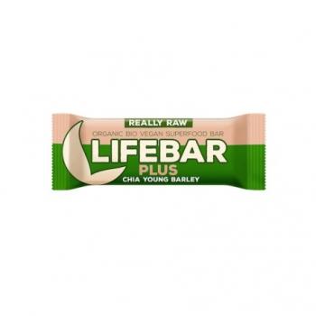 Lifebar Plus Chia et Orge - 47g - Lifefood