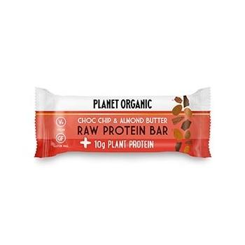 Barre Protéinée Pâte d'Amandes-Pépites de Chocolat 50g Bio - Planet Organic