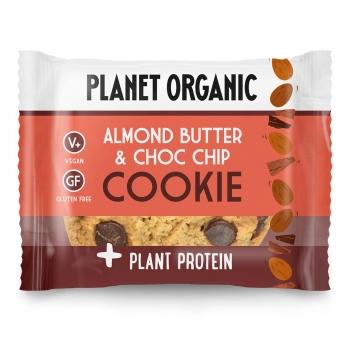 Cookie Protéiné Amandes-Chocolat Bio 50g - Planet Organic