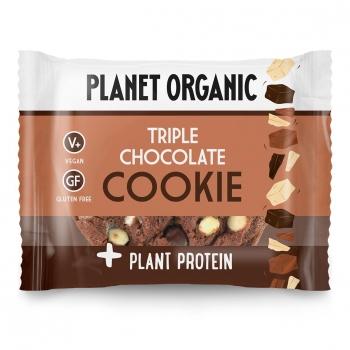 Cookie Protéiné 3 Chocolats Bio 50g - Planet Organic