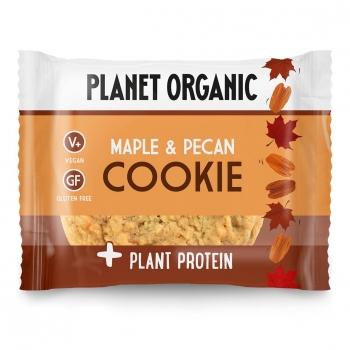 Cookie Protéiné Sirop d'Erable & Pécan Bio 50g - Planet Organic