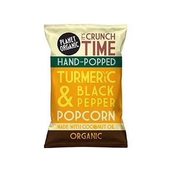 Popcorn Curcuma Poivre 20g Bio - Planet Organic