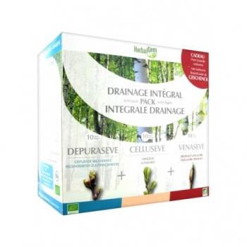 Pack Drainage Intégral Bio - HerbalGem - 250ml