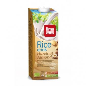Rice Drink Noisettes et Amandes 1L-Lima