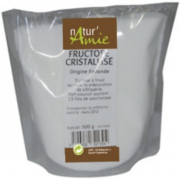 Fructose Cristallisé - 500g - Natur'Amie