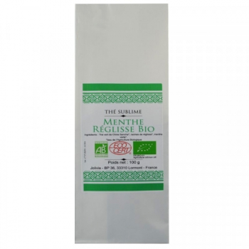 Thé Vert Menthe Réglisse Bio - 100 g