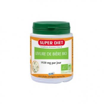 Levure de Bière Bio - 100 Gélules - SuperDiet