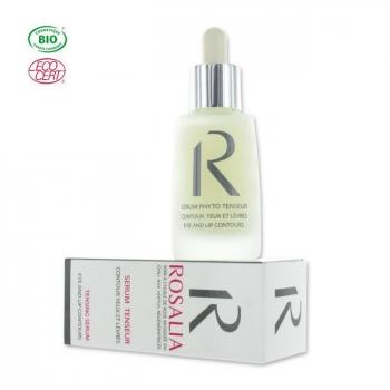 ROSALIA - Sérum phyto tenseur bio à l'huile de rose musquée - Yeux et lèvres 30ml