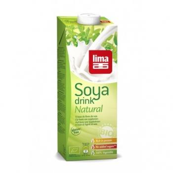 Soya Drink Natural 1L-Lima