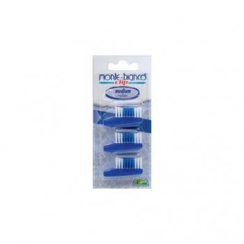 Recharge Brosse à dents Medium - 3 têtes - Monte-Bianco
