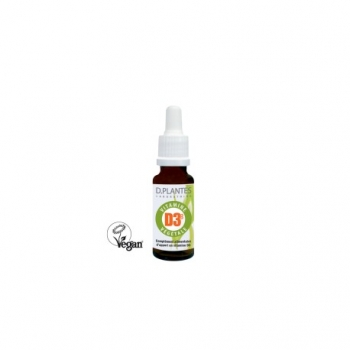 Vitamine D3++ Végétale - 20ml - D.plantes