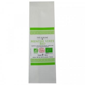 Thé Vert Menthe verte Bio - 100 g