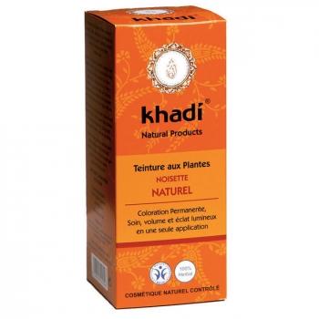 KHADI - Noisette naturel - Coloration végétale naturelle 100g