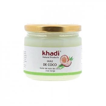 KHADI - Huile de coco vierge - Cheveux et visage 250g