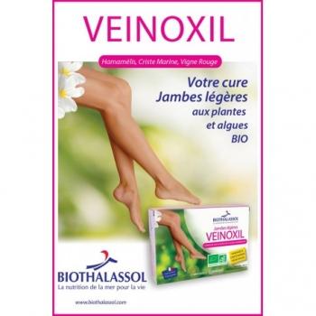 Veinoxil Jambes Légères - 20 Ampoules - BIOTHALASSOL