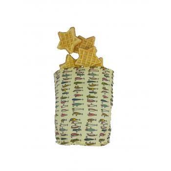 Petit sac fraîcheur rond Emballage alimentaire réutilisable, Zéro déchet