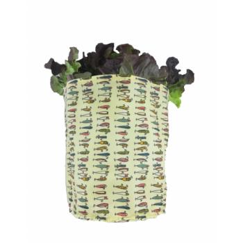 Grand sac fraîcheur rond, Emballage alimentaire réutilisable, Zéro déchet