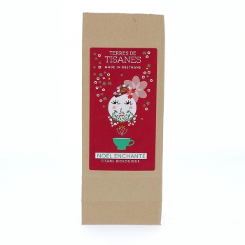 "Tisane ""Noël enchanté"" bio, 25 g"