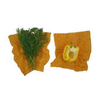 Wrap 2x Medium Emballage alimentaire réutilisable, Zéro déchet