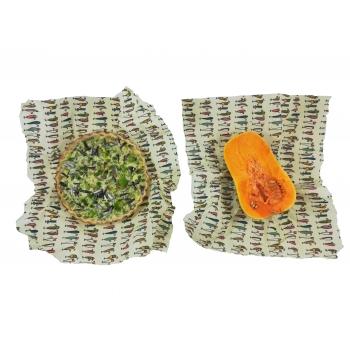 Wrap 2x Large Emballage alimentaire réutilisable, Zéro déchet