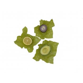 Wrap 3x Small Emballage alimentaire réutilisable, Zéro déchet