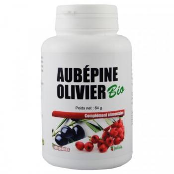 Aubépine Olivier Bio - Gélules végétales de 280 mg