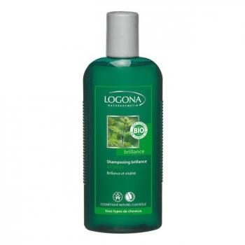 LOGONA - Shampoing Brillance à l'ortie - Tout type de cheveux - 250ml