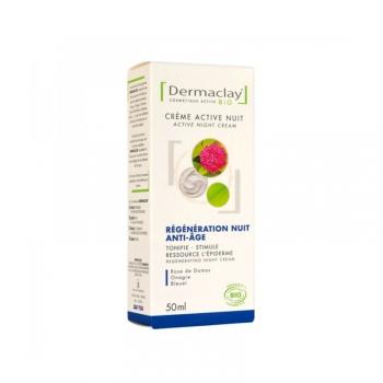Crème Active Nuit Bio - Régénération nuit anti-âge - 50 ml