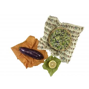 Wrap S-M-L Emballage alimentaire réutilisable, Zéro déchet