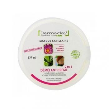 Masque Capillaire Démêlant Bio - Crème 2 en 1 - 125ml