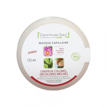 Masque Capillaire Bio - Pour cehveux colorés, désolorés, méchés - 125ml