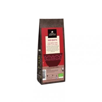 Thé noir bio 1001 Nuits fruits rouge vanille