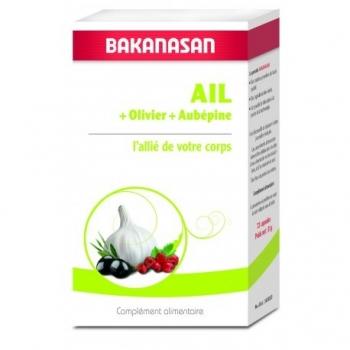 Ail + Olivier + Aubépine - 72 Capsules - Bakanasan