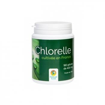FLAMANT VERT - Chlorelle 400mg cultivée en France - 180 gélules