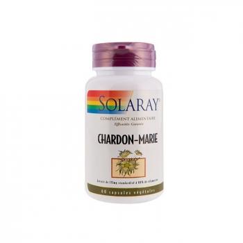 SOLARAY - Chardon marie 175mg - Foie - 60 capsules