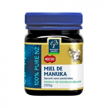 MANUKA HEALTH - Miel de Manuka MGO 550+ Pot de 250g