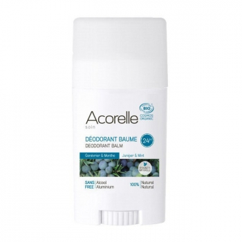 ACORELLE - Déodorant baume bio Genévrier et Menthe 40g