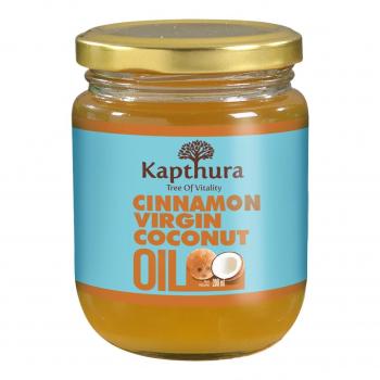 Huile de Coco infusée à la Cannelle Bio 200 ml - Kapthura