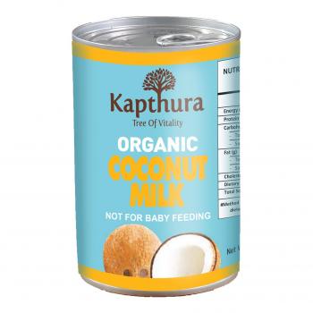 Lait de Coco 17% MG Bio 400ml - Kapthura