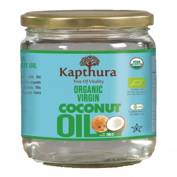 Huile de Coco Vierge Bio 200 ml - Kapthura
