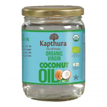 Huile de Coco Vierge Bio 500 ml - Kapthura