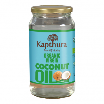 Huile de Coco Vierge Bio 1L - Kapthura