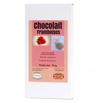 Chocolait framboise
