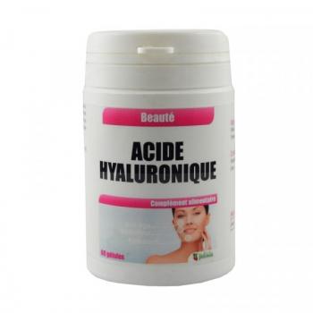Acide Hyaluronique - Gélules végétales de 60 mg