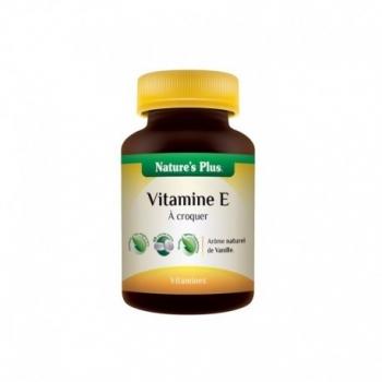 Vitamine E à croquer - 60 Comprimés - Nature's Plus
